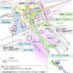 渋谷駅の整備計画(渋谷区資料)