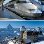 TGVとアルプス