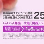 ピーチ250円札幌