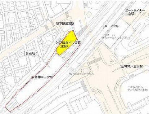阪急三宮駅ビル地図