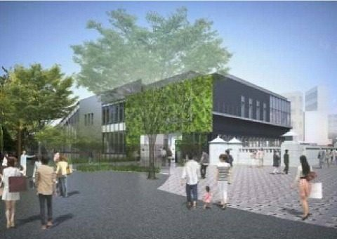 原宿駅建て替え