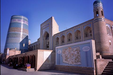 ウズベキスタンのヒヴァ