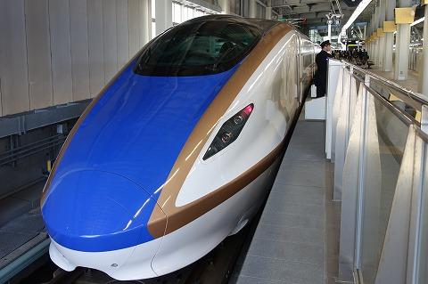 北陸新幹線金沢駅
