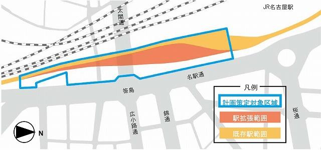名鉄名古屋駅再開発