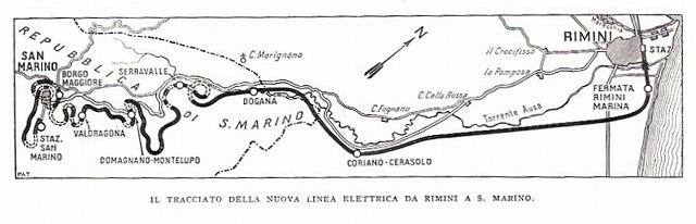 サンマリノ登山鉄道
