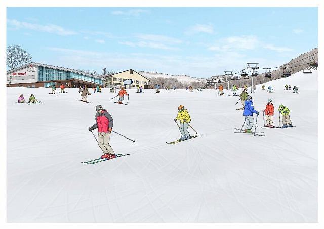 ニセコアンヌプリスキー場初心者コース