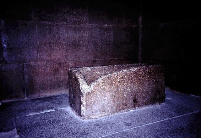 クフ王のピラミッド玄室