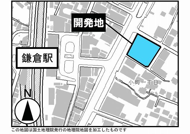 ホテルメトロポリタン鎌倉地図
