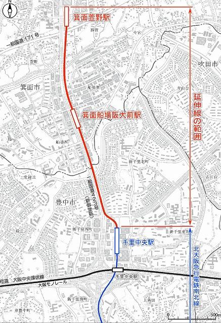 北大阪急行延伸