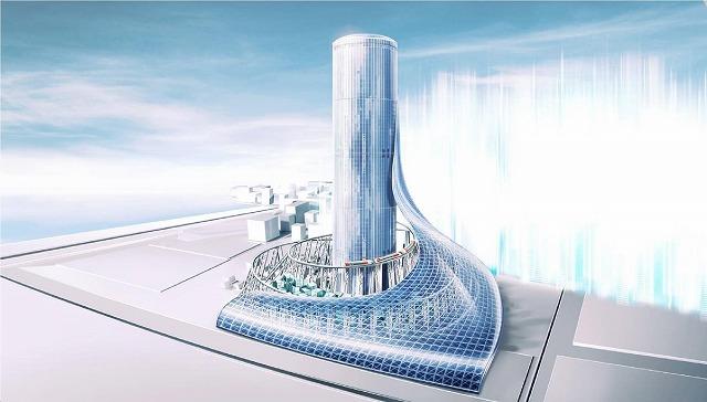 夢洲駅タワー