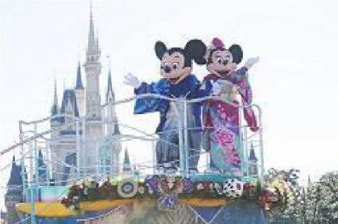 東京ディズニーランド「お正月のプログラム」