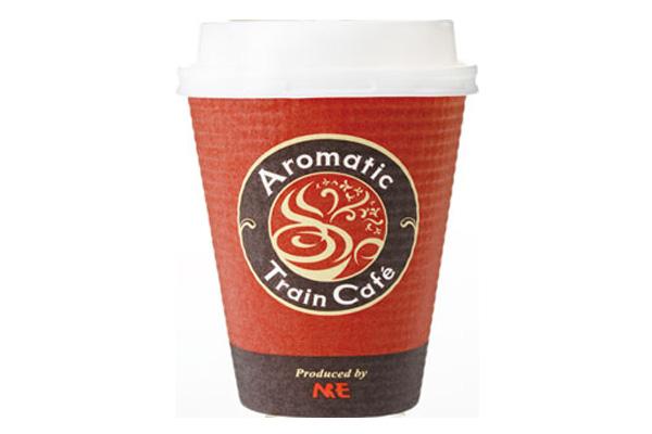 新幹線のコーヒー
