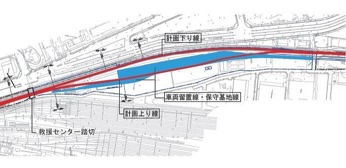 羽田空港アクセス線東京貨物ターミナル