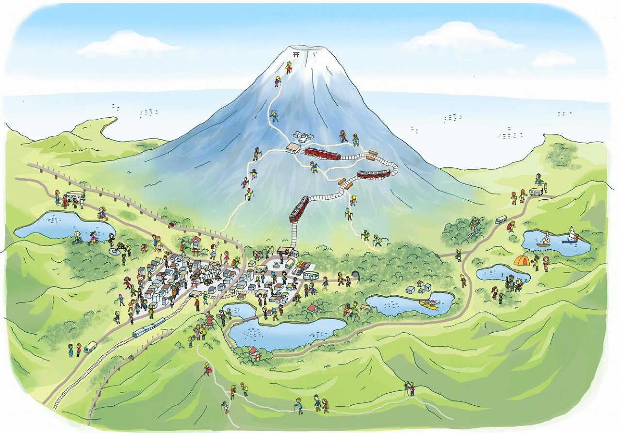富士登山鉄道イメージ