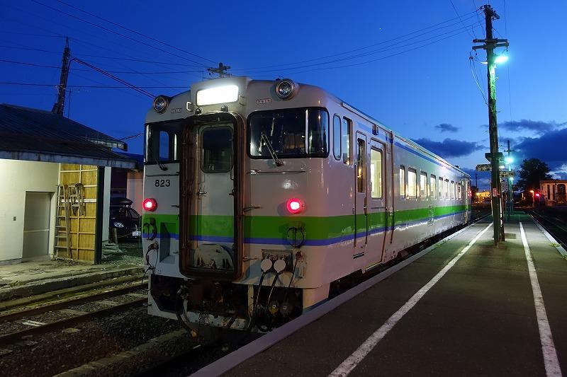 札沼線石狩月形駅