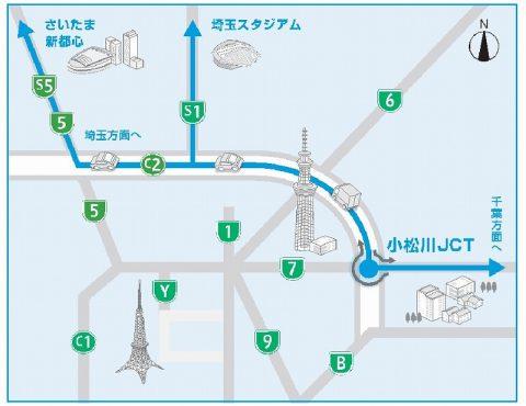 小松川ジャンクション