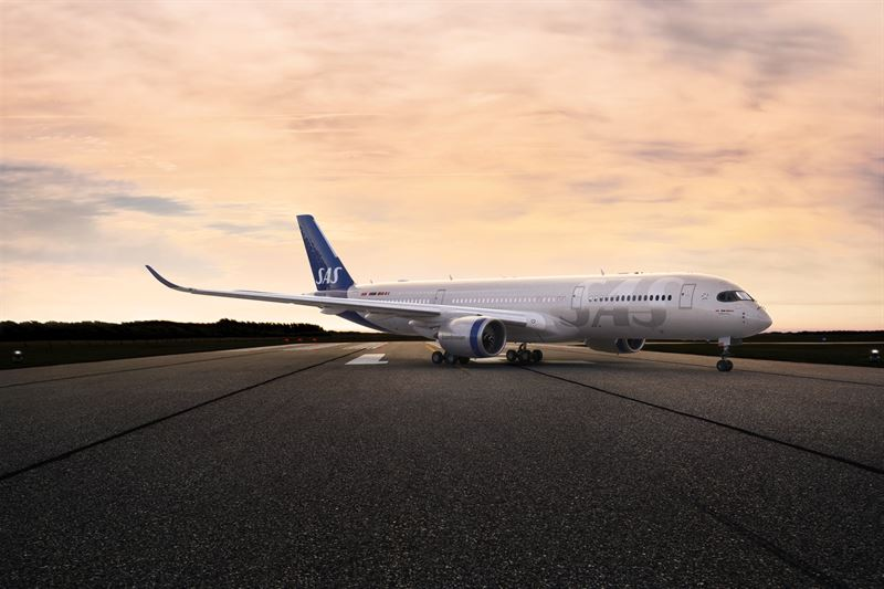 スカンジナビア航空A350