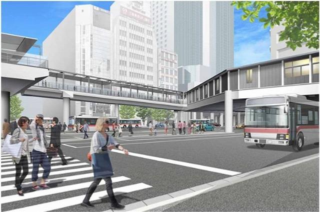 渋谷フクラス接続通路