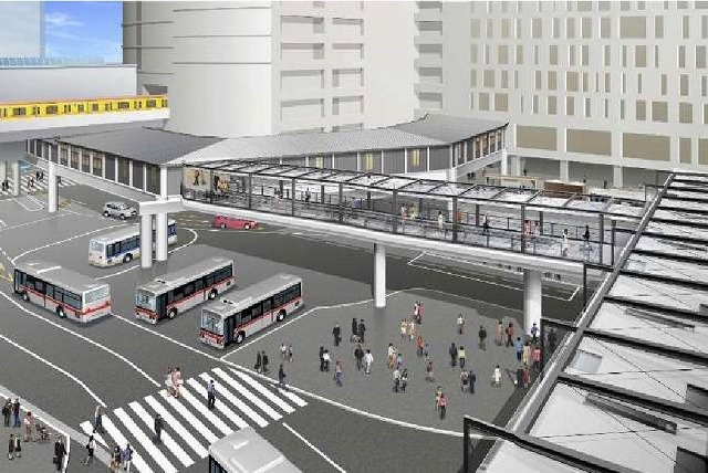 渋谷西口歩行者通路