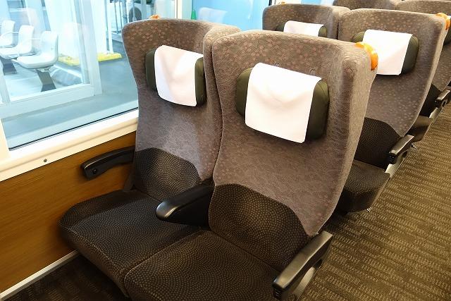 ひたちE657系グリーン車