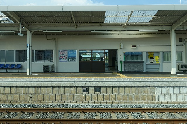 常磐線浪江駅