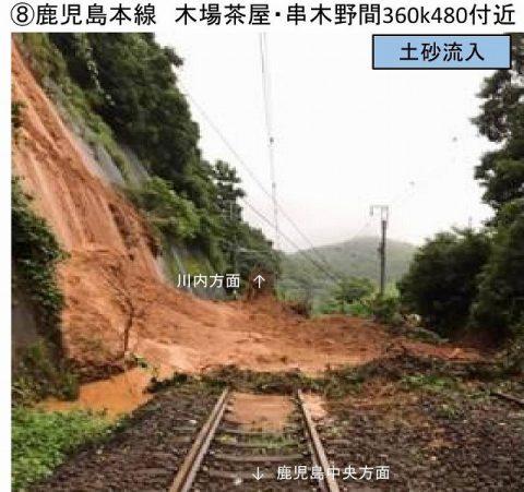 鹿児島線被害