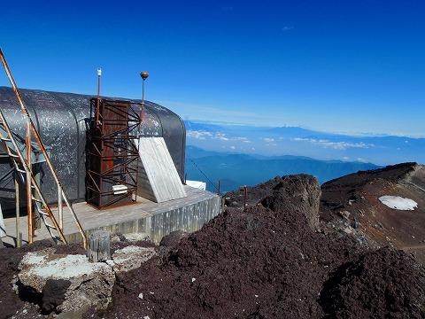 富士山頂剣ヶ峰