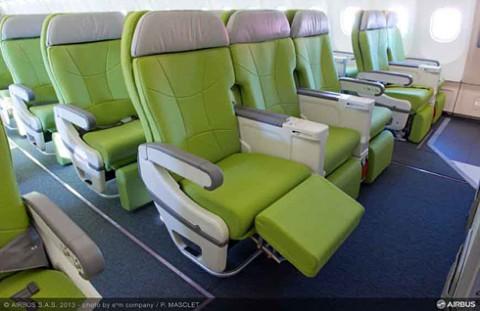 A330スカイマークグリーンシート