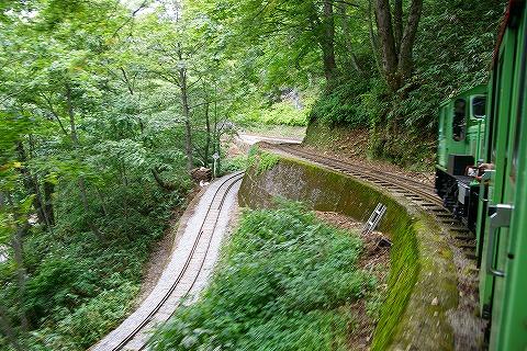 立山砂防軌道トロッコ列車