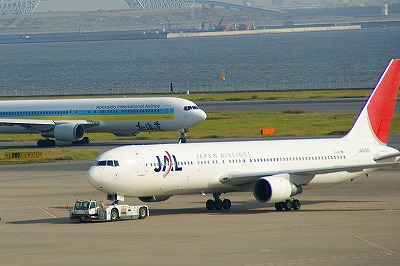 JALとエアドゥ