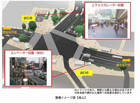 渋谷駅工事