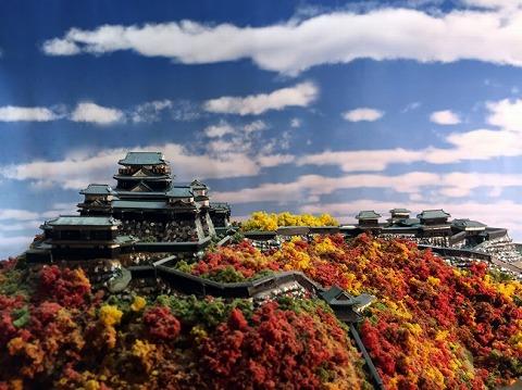 お城EXPOジオラマ模型