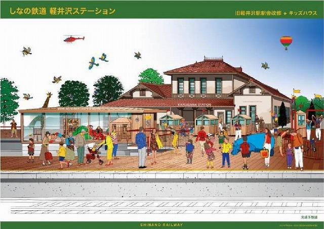 軽井沢駅舎