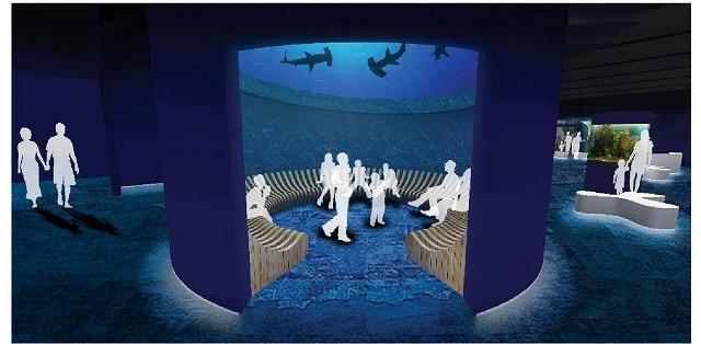 四国水族館サメ水槽