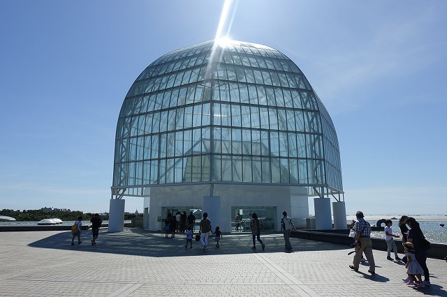 葛西臨海水族園ガラスドーム