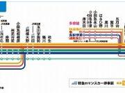 小田急停車駅表