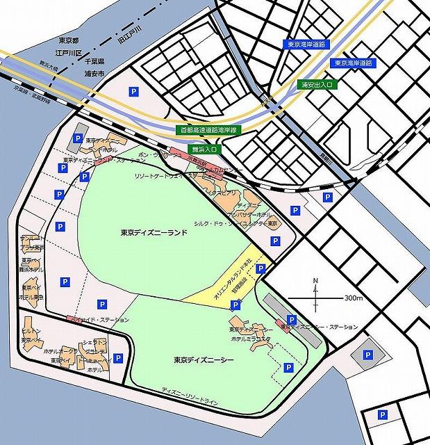 TDR地図