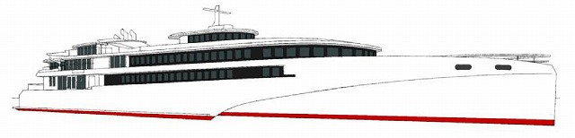 JR九州日韓航路新造船