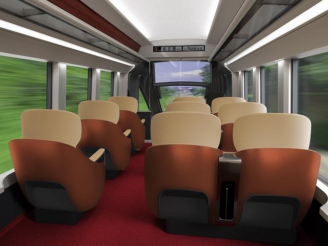 新型名阪特急ハイグレード車両