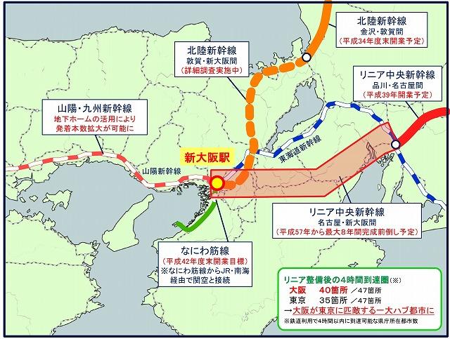 新大阪駅の容量問題