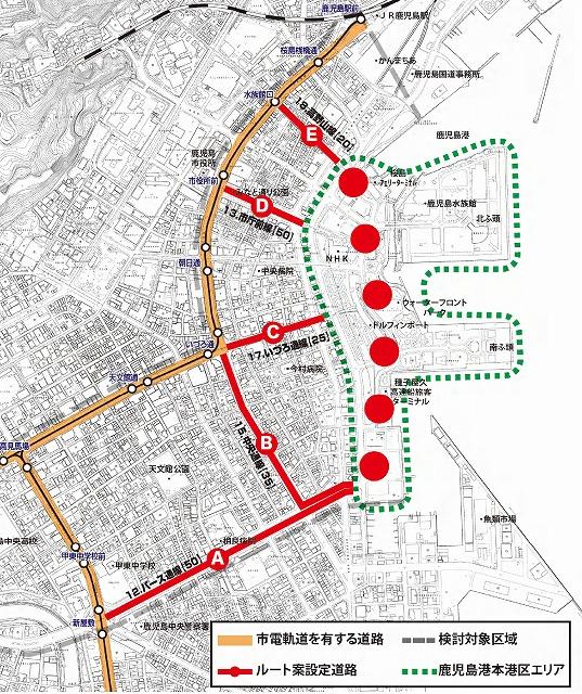 鹿児島市電延伸計画