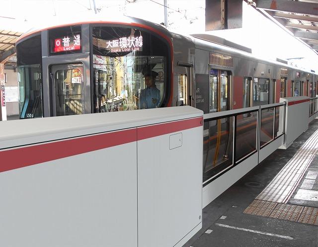 京橋駅可動柵イメージ