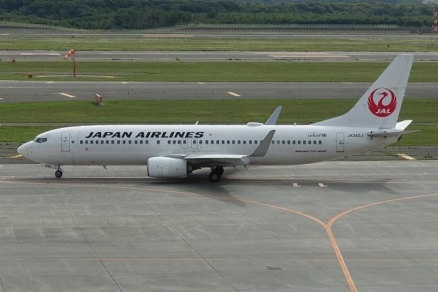 千歳空港JAL