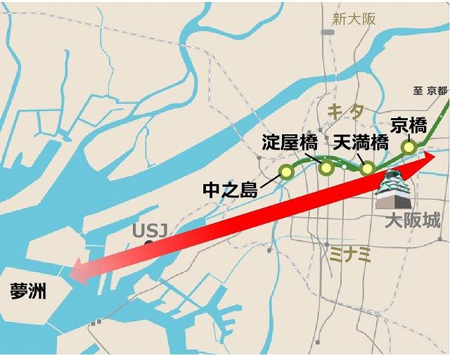 大阪東西軸復権