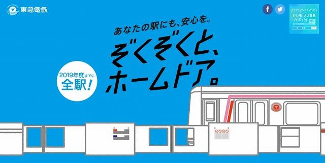 東急電鉄ホームドア