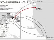 JALの北米ネットワーク