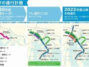 臨海BRT路線図
