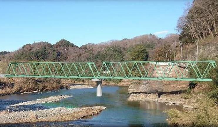水郡線久慈川橋梁