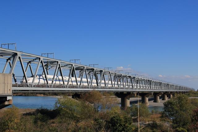 N700S東海道新幹線のぞみ天竜川
