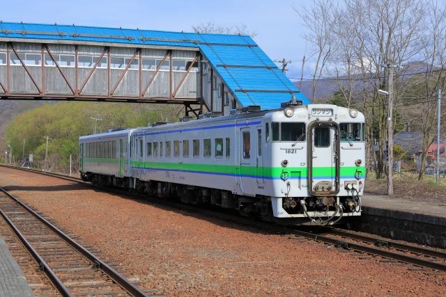 函館線蘭島駅